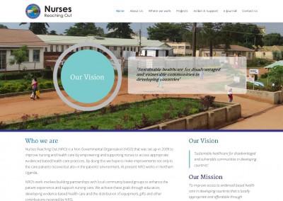 Nurses Reaching Out