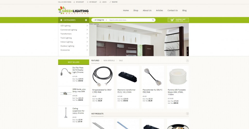 Green Lighting Solutions
