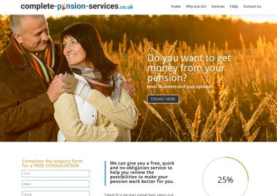 Comp Pension Service