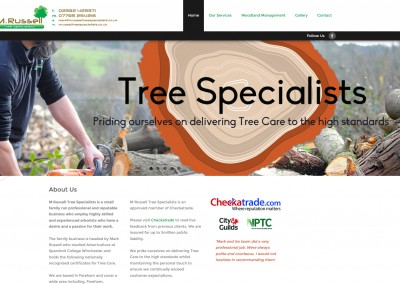 MRussell Tree Specialists