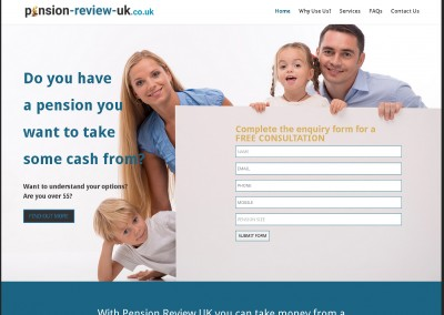 Pension Review UK