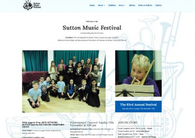 Sutton Music Festival