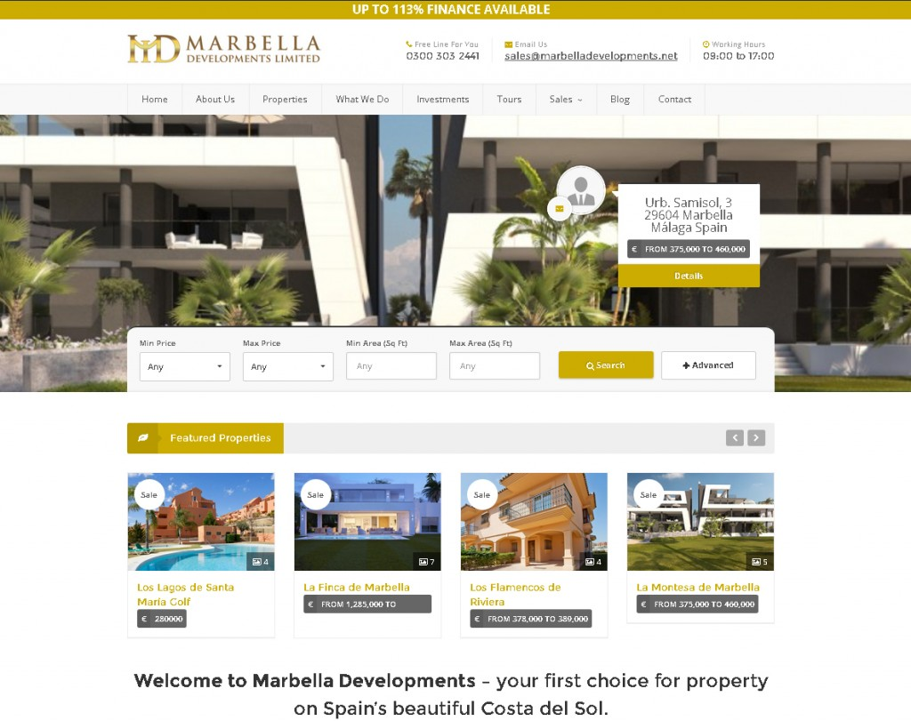 Marbella Developments
